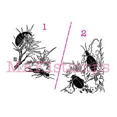 beetle bug rubber stamp MAKIstamps