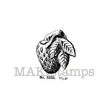 Strawberry stamp makistamps