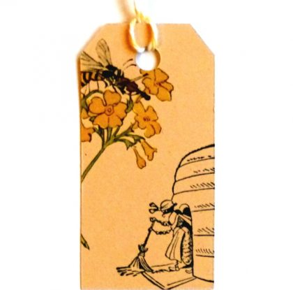 german bee rubber stamp MAKIstamps
