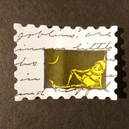Gute Nacht Stempel Brownie im Mondlicht MAKIstamps