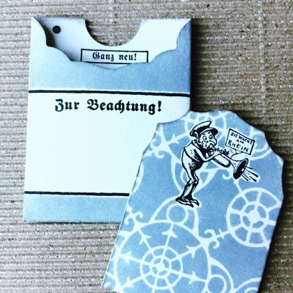 Midori traveller rubber stamp