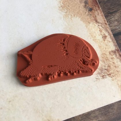 Beetle rubber stamp MAKIstamps special collection