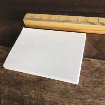 Gummiertes Papier im Block MAKIstamps