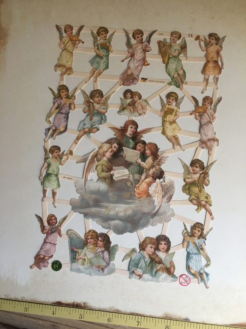 MAKIstamps Glanzbilder Engel
