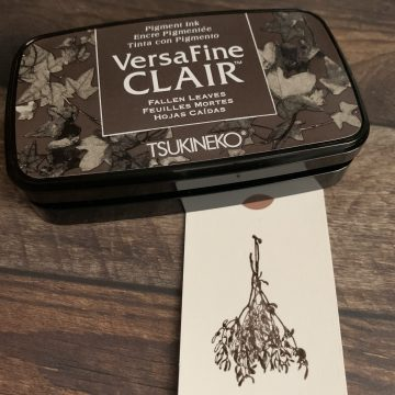 Ink pad Tsukineko Versafine Clair MAKIstamps