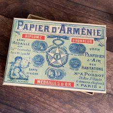 Vintage Box Papier d'Arménie 1900 MAKIstamps
