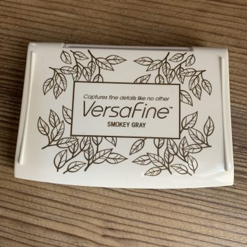 Versafine ink pad smokey grey MAKIstamps rubberstamps
