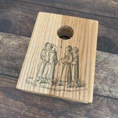 MAKIblock Ash wood stamping block