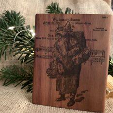 Santa Claus MAKIblock acrylic block for cling stamps