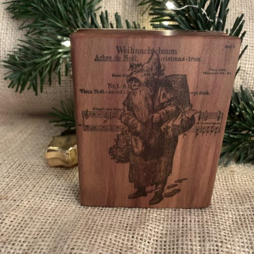Christmas MAKIblock acrylic block for cling stamps