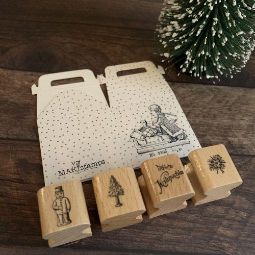 MINI Stempel Set Weihnachten MAKIstamps Geschenkset