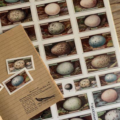 Sticker Vintage Eier MAKIstamps