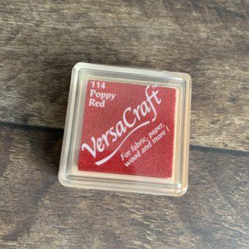 Stoff Versa Craft Stempelkissen rot MAKIstamps