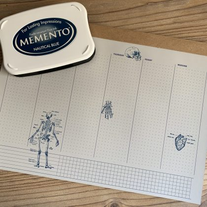 Stempel Anatomie MAKIstamps