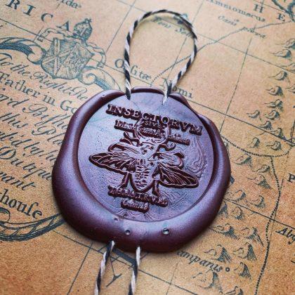 wax seal stamp beetle MAKIstamps