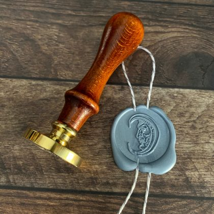 wax seal stamp medieval moon MAKIstamps