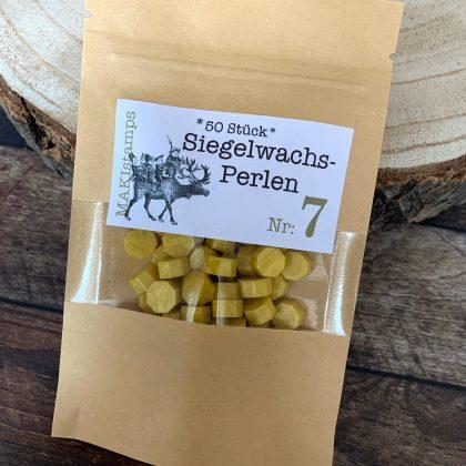 sealing wax beads gold MAKIstamps