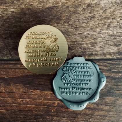 sealing wax stamp bumble bee MAKIstamps
