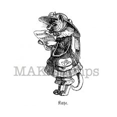 Anthropomorphic animal stamps MAKIstamps