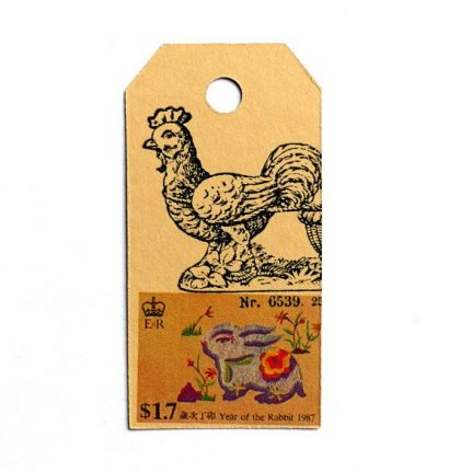 rubber stamp chicken