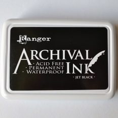 inkpad ranger archival ink black