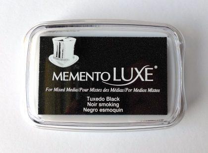 inkpad memento luxe tuxedo black