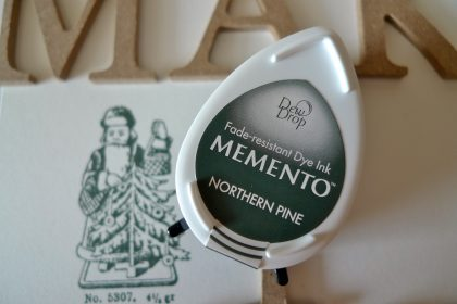 inkpad green northern pine Memento