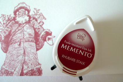 Memento inkpad rhubarb stalk