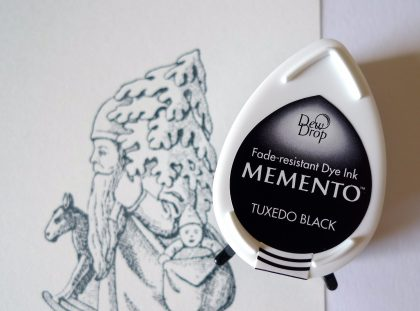 Memento inkpad tuxedo black