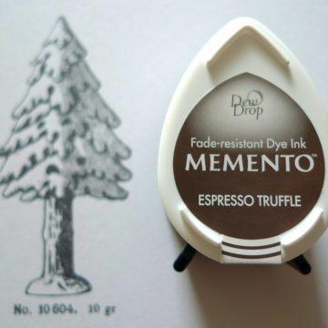 inkpad Memento espresso truffle