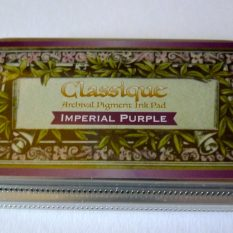 inkpad tsukineko classique imperial purple