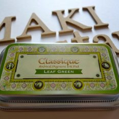 inkpad tsukineko classique leaf green