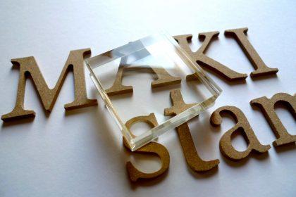 acrylic block MAKIstamps