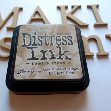 inkpad distress ink pumice stone