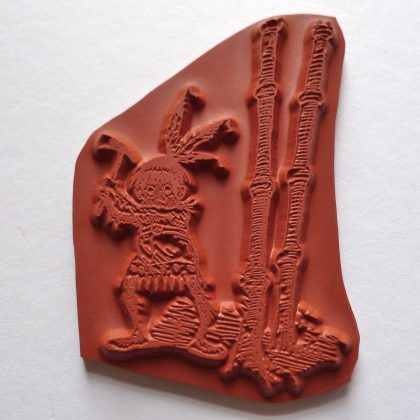 Stempel Brownie Indianer MAKIstamps