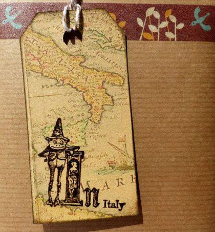 Stempelgummi Italien