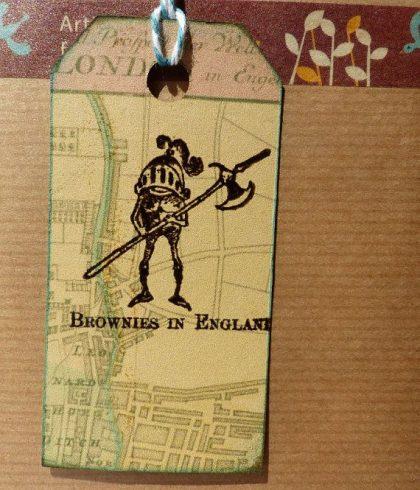 Knight stamp