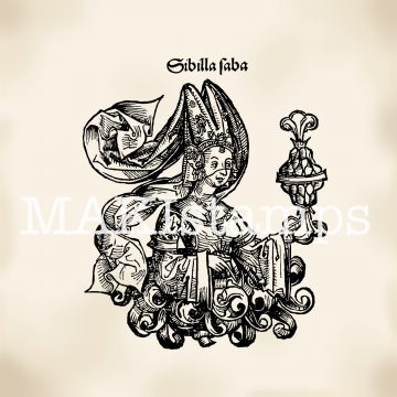 Stempel Königin von Saba makistamps