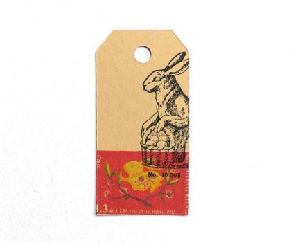 rubber stamp easter bunny