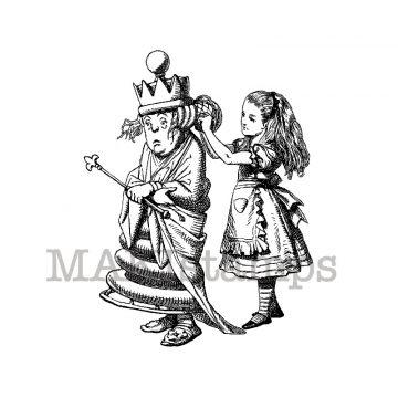 Alice in Wonderland makistamps