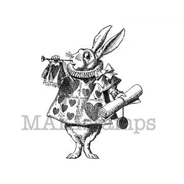 white rabbit herald makistamps