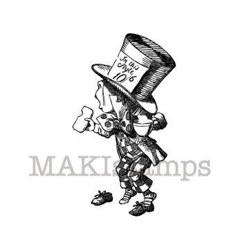 Alice in Wonderland stamp makistamps