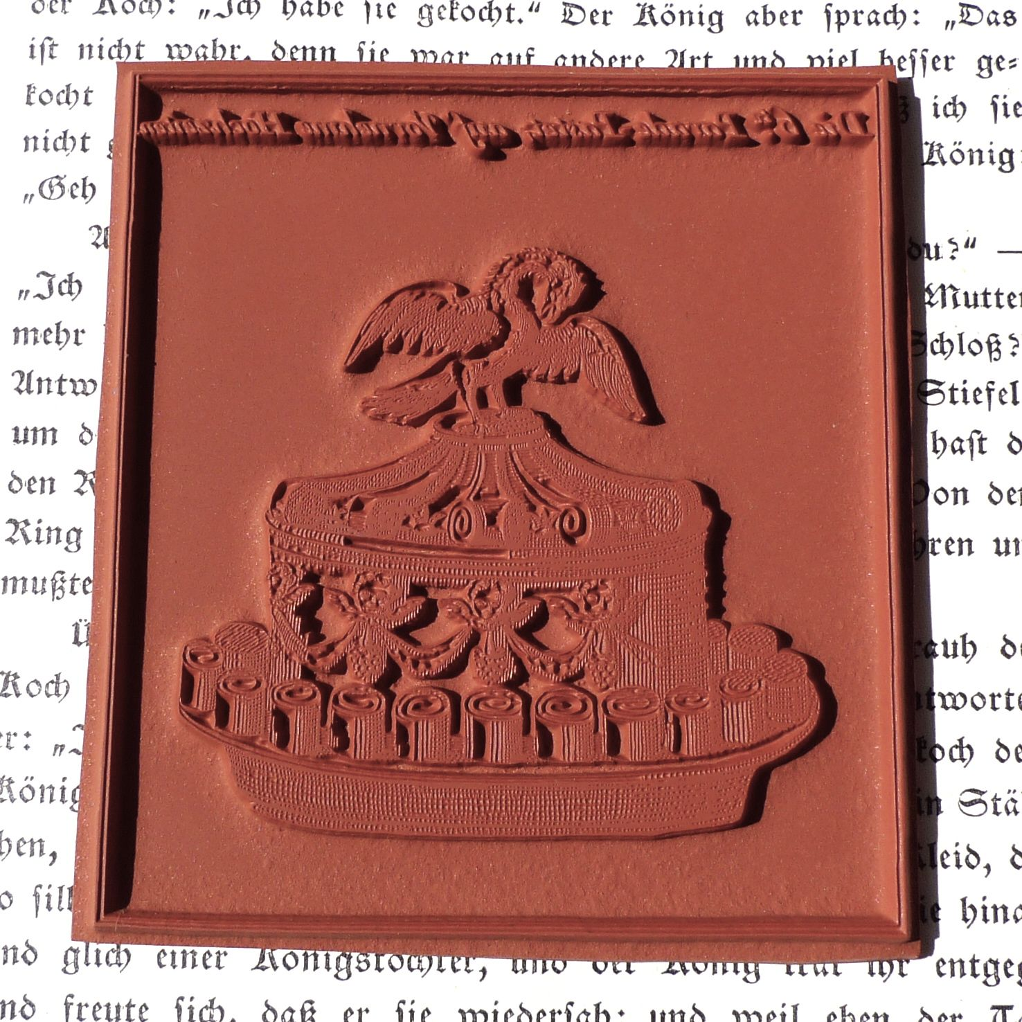 Food rubber stamp / Wedding pie (140101) | MAKIstamps