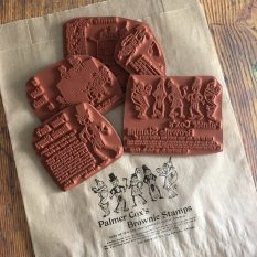 Brownies rubber stamp grab bag