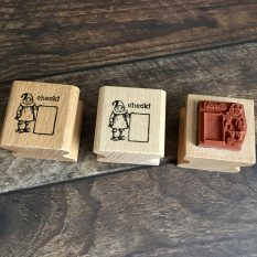 Small rubber stamp MAKIstamps limited edition
