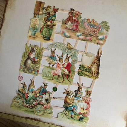 Vintage Easter paper scraps MAKIstamps