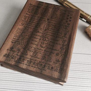 Acrylblock mit Holz MAKIblock