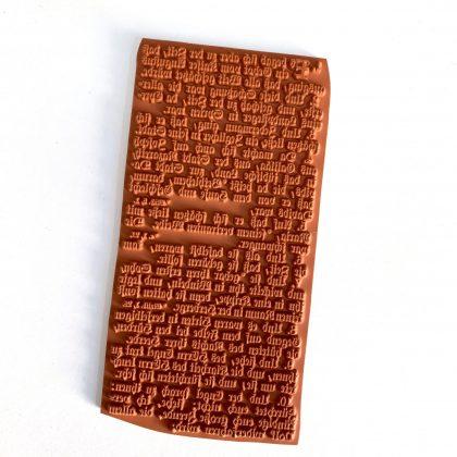 rubber stamp gospel of Luke MAKIstamps