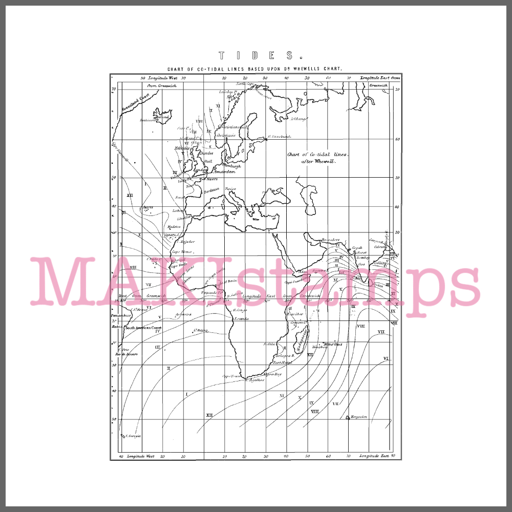 background stamp sailing