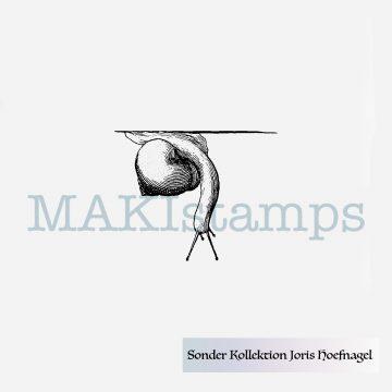 Stempel Schnecke MAKIstamps